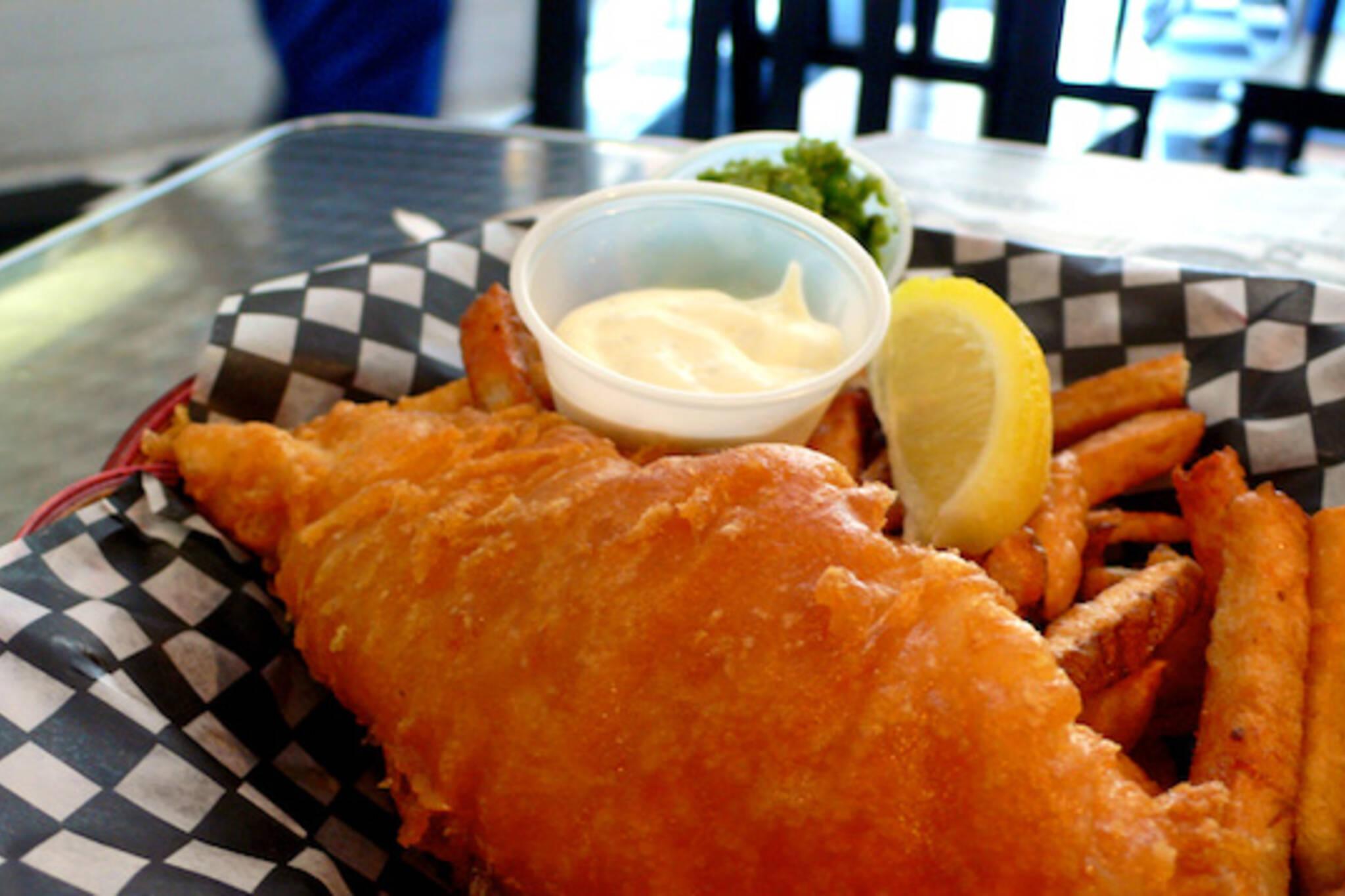 Deep Blue Fish & Chips Fries