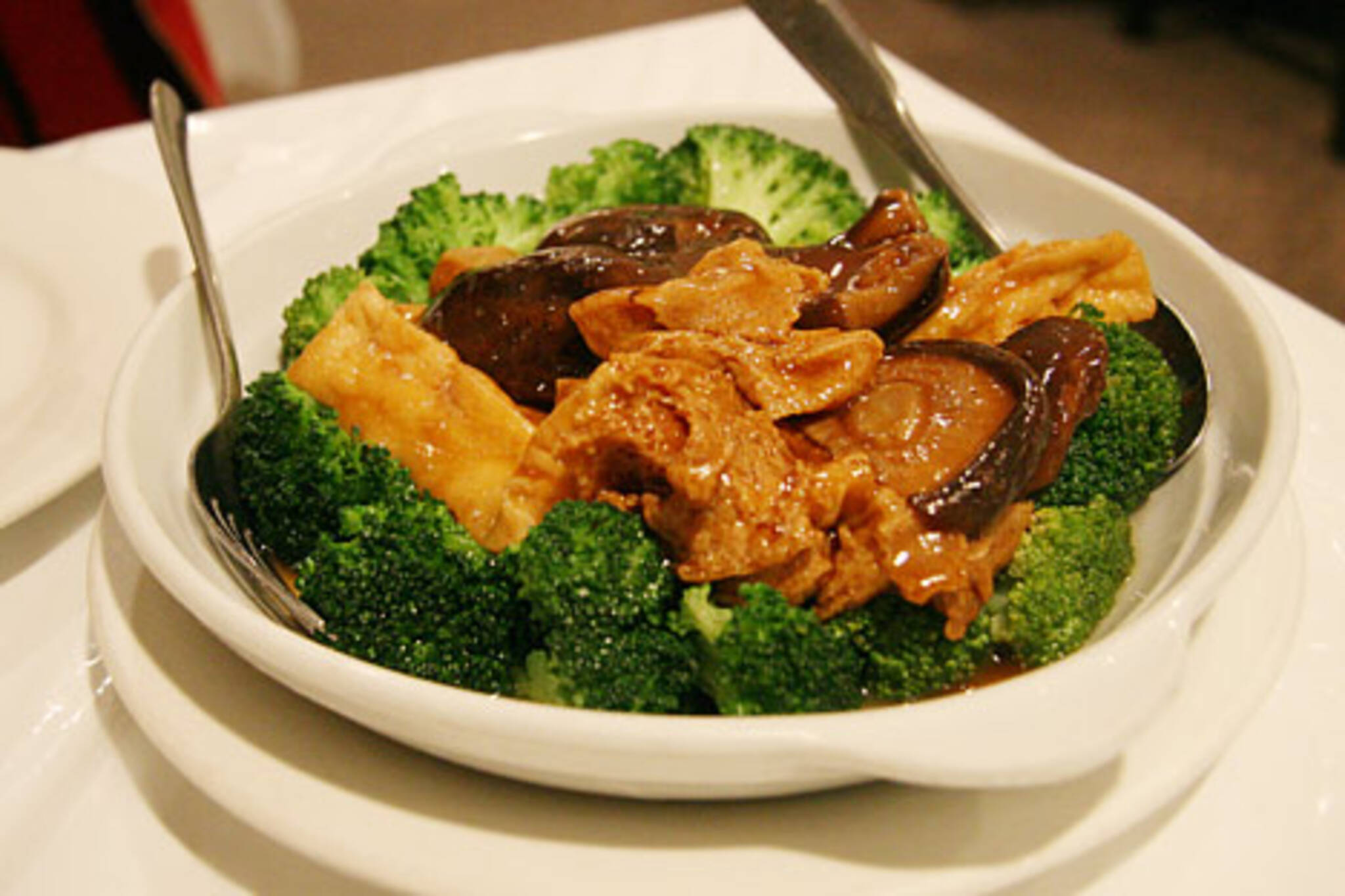 Braised Bean Curd with Vegetables