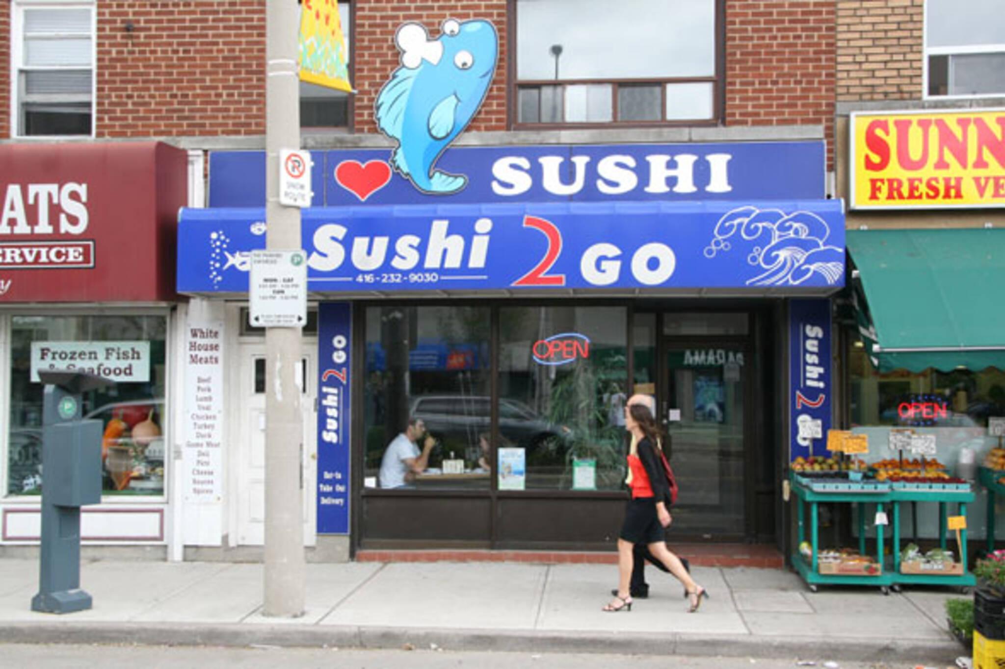 Sushi2Go Kingsway Toronto