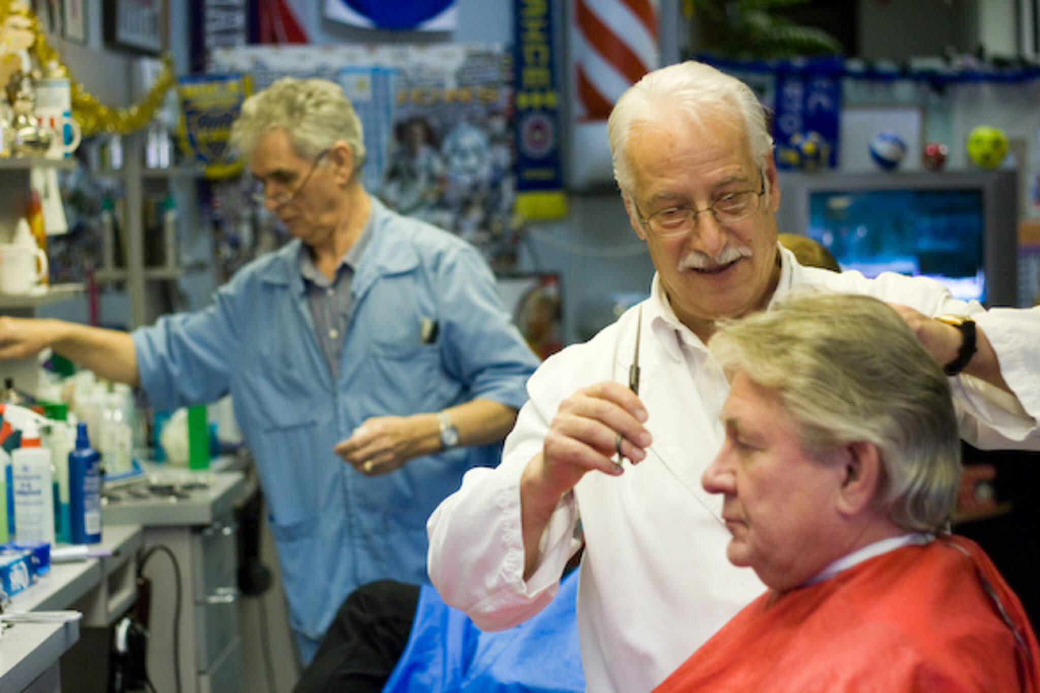 Gus the Other Barber