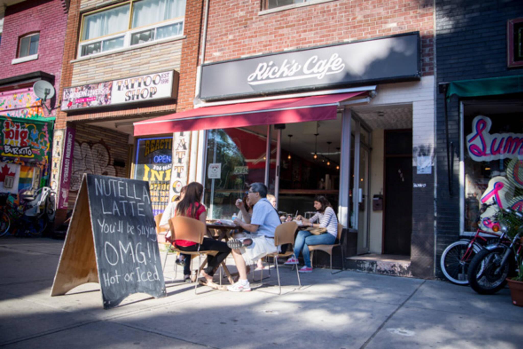 rick's cafe toronto