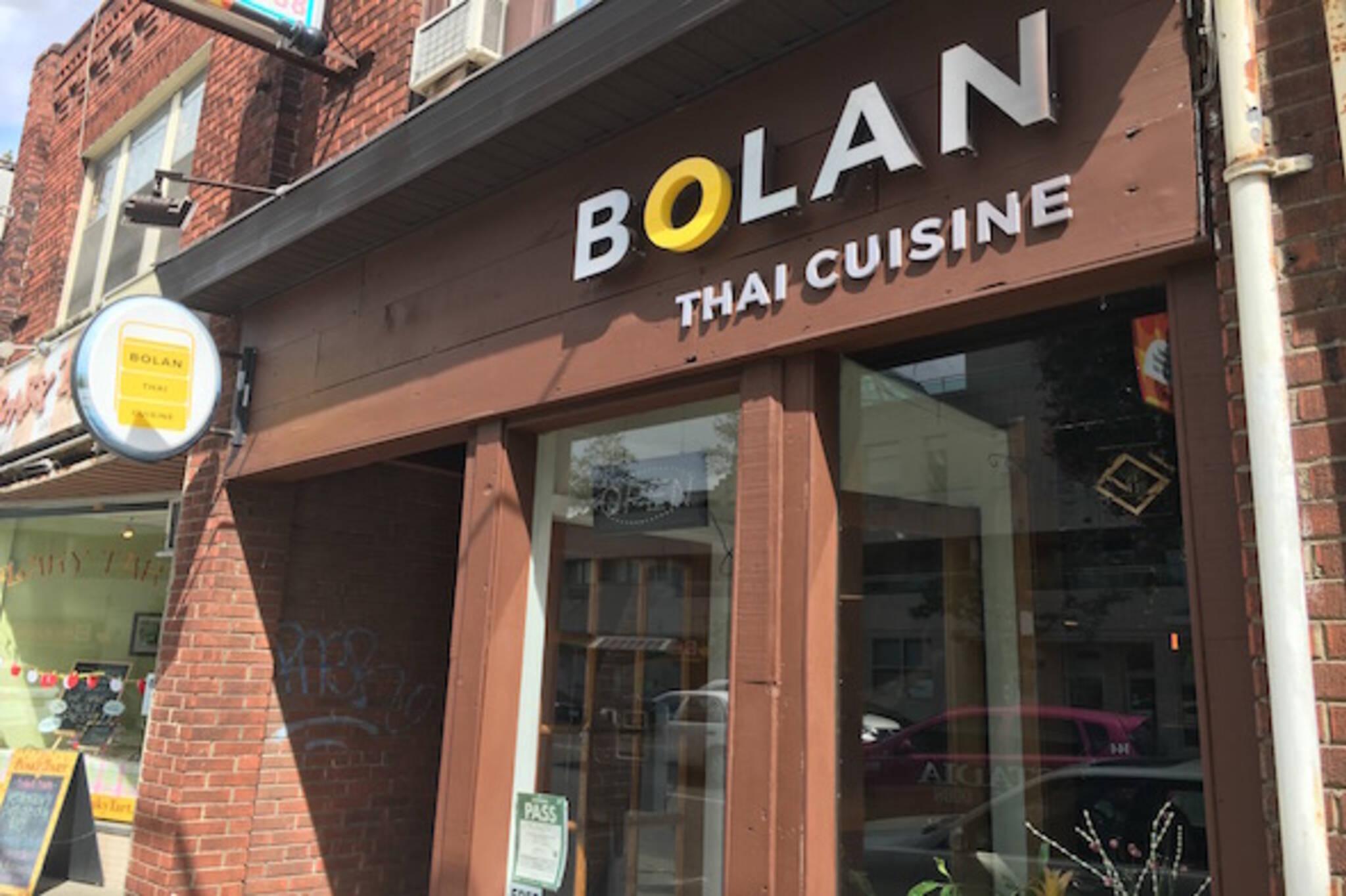 Bolan Thai Cuisine Toronto