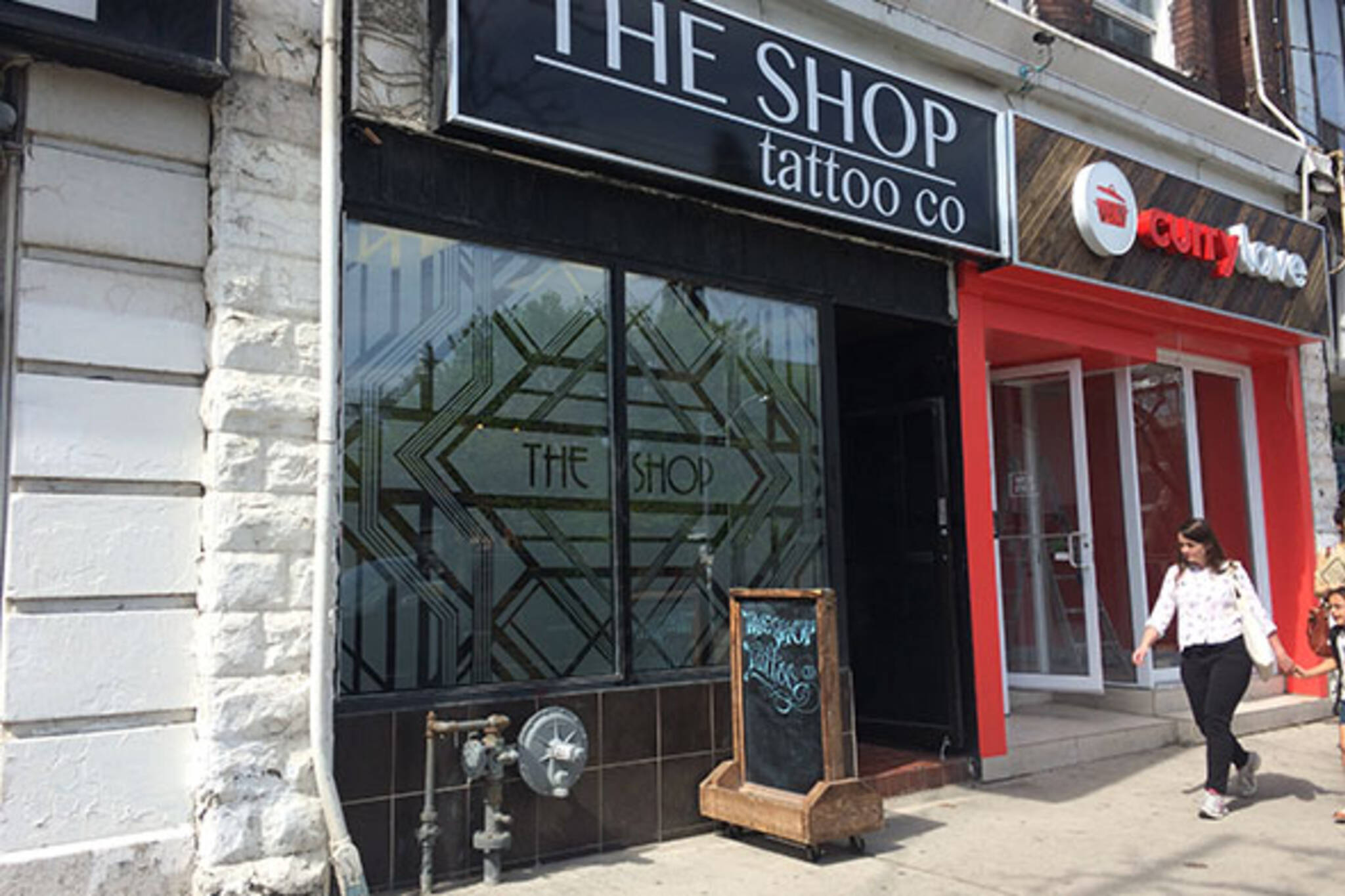 The Shop Tattoo