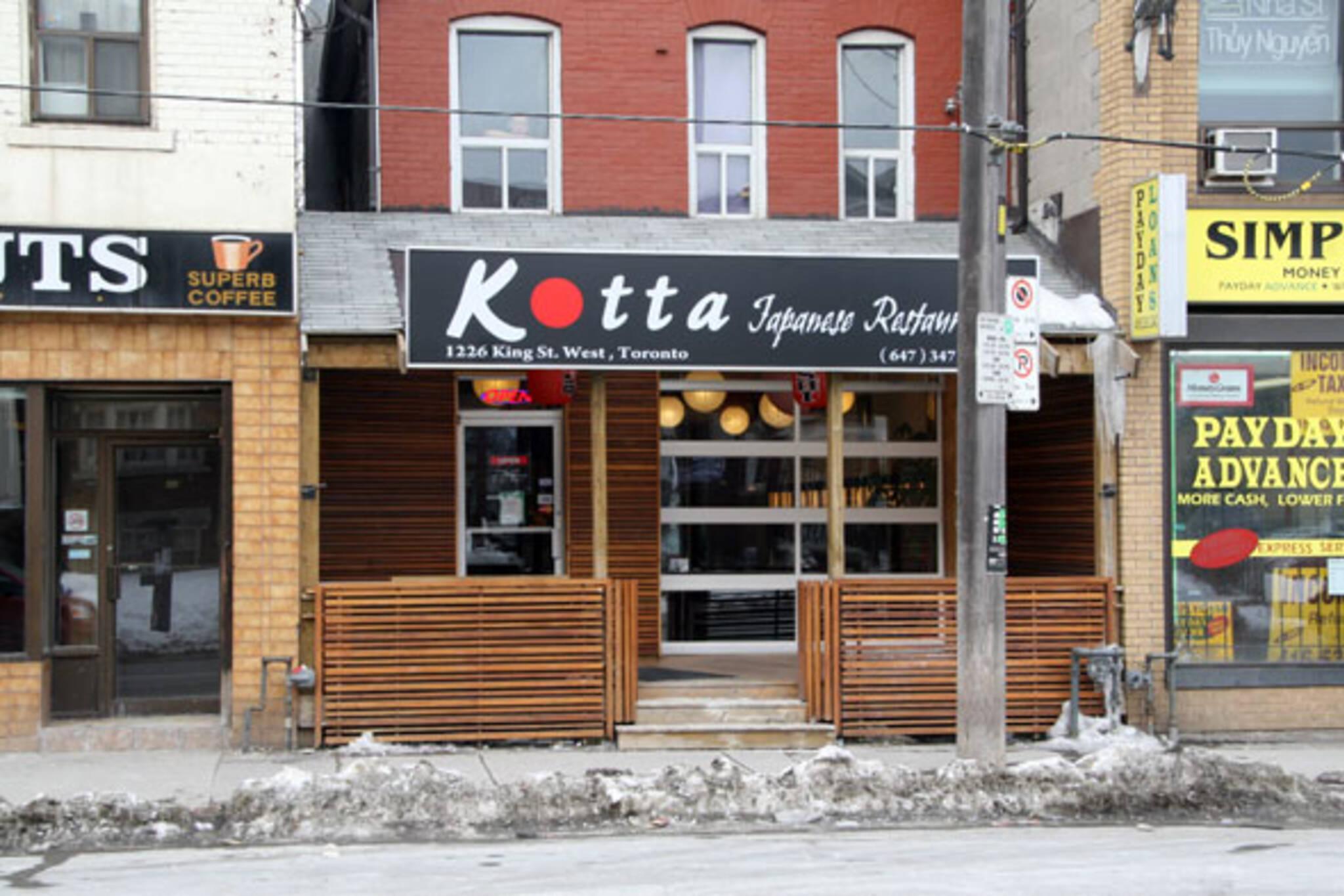 Kotta Japanese Restaurant Toronto