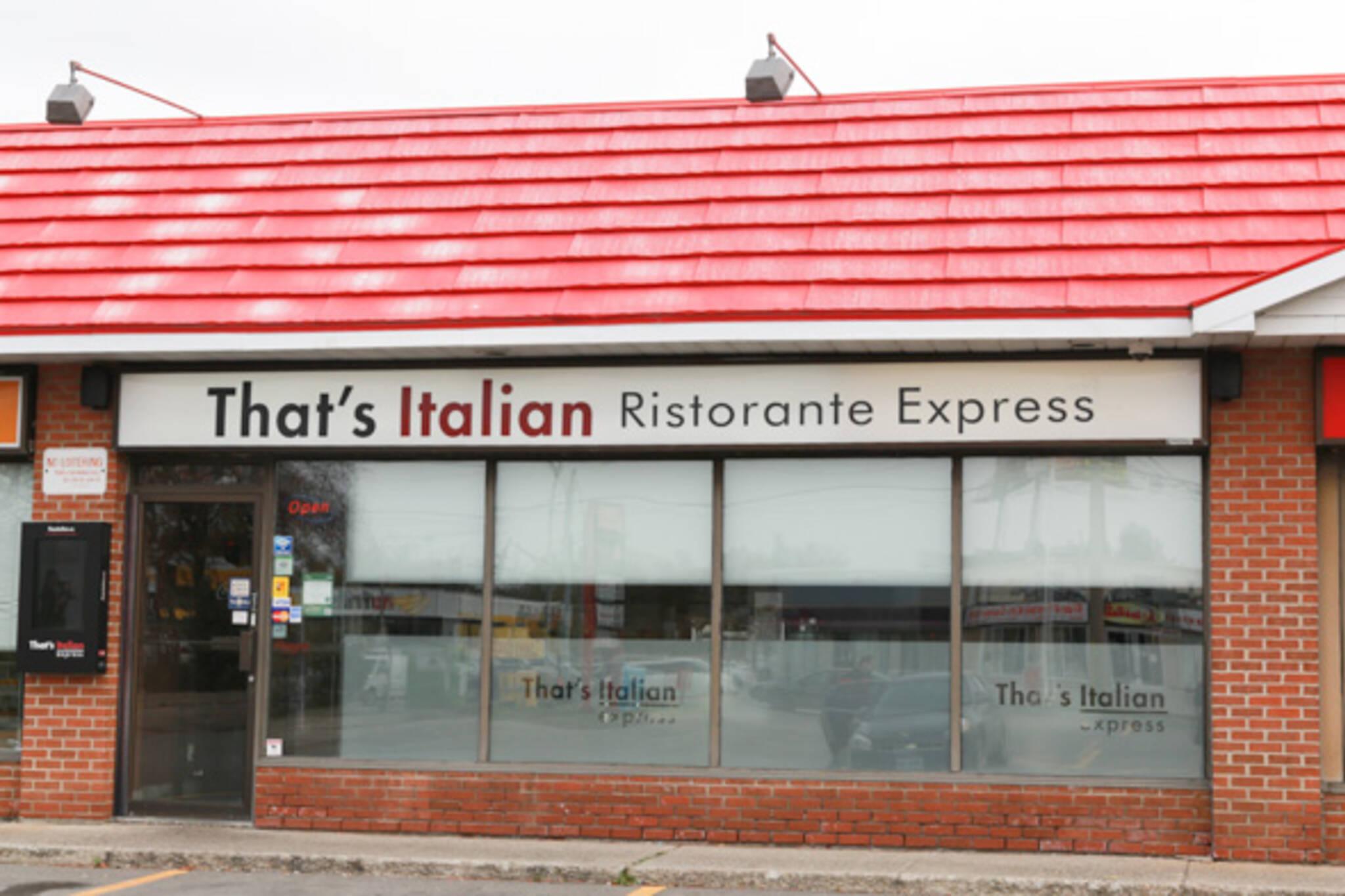 thats italian ristorante express