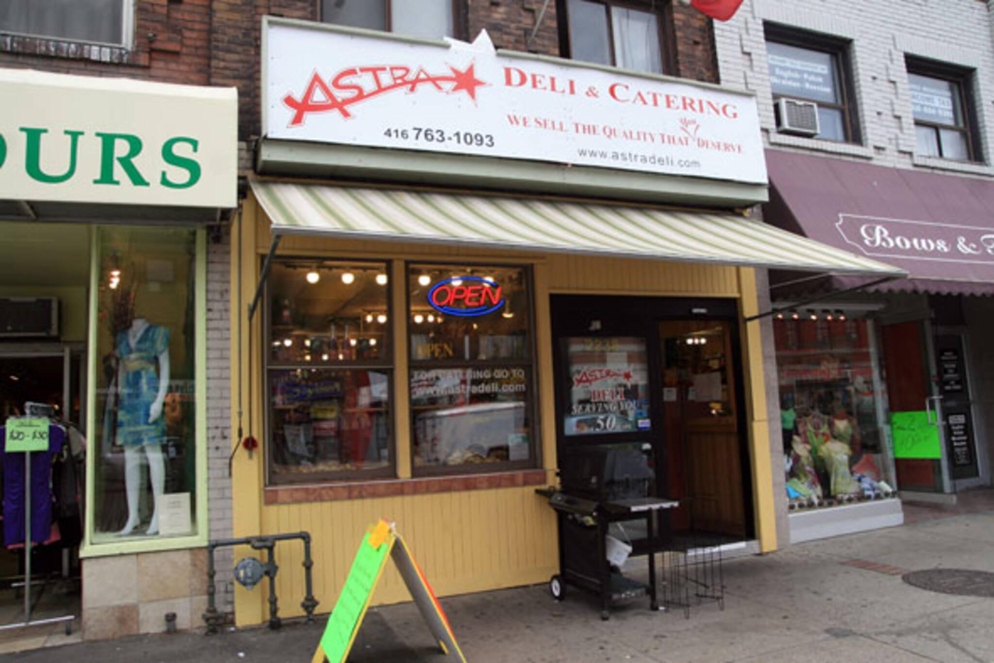 Astra Deli & Catering Toronto