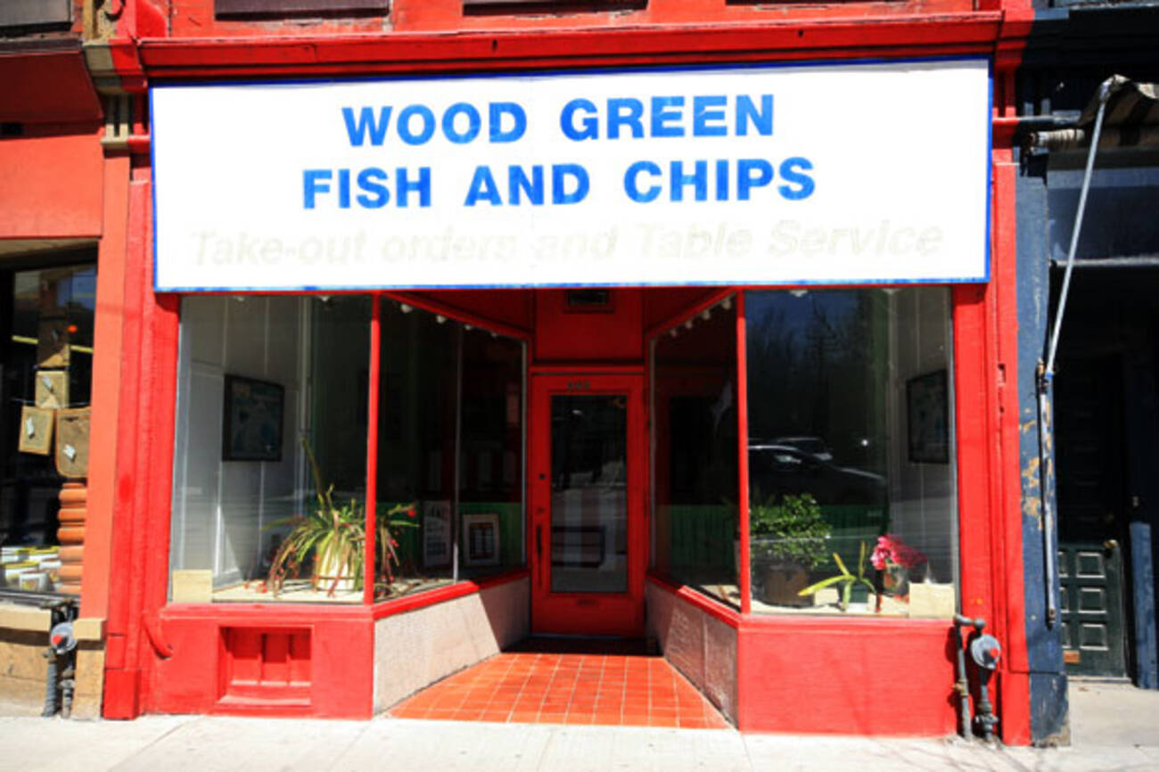 Wood green fish and chips closed blogto toronto for Bettys fish and chips