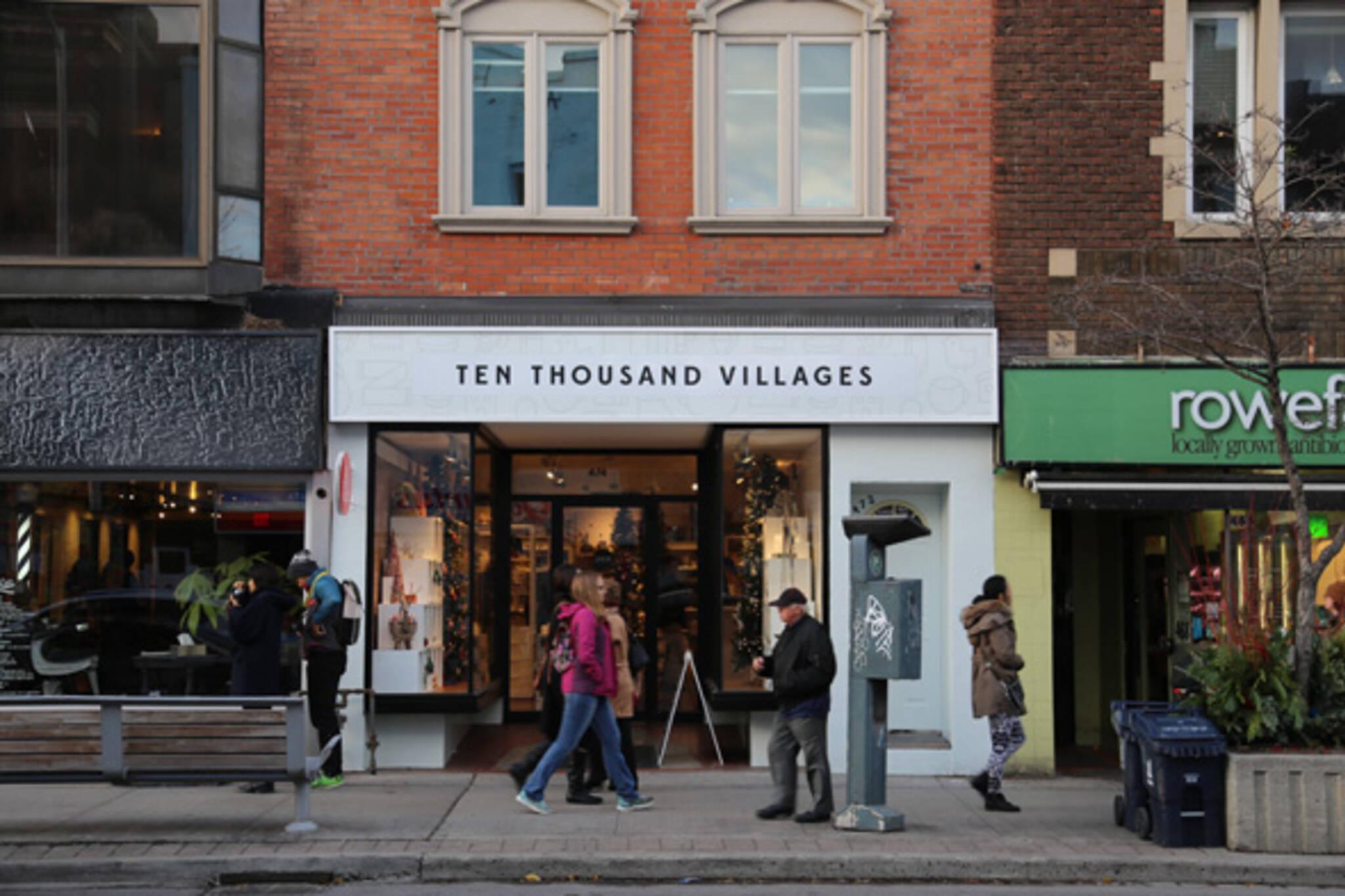 Ten Thousand Villages - blogTO - Toronto