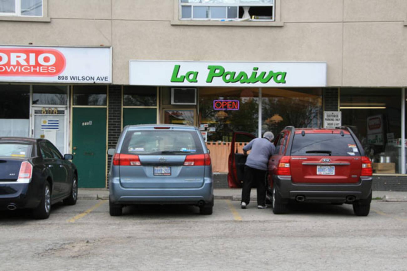 La Pasiva Blogto Toronto