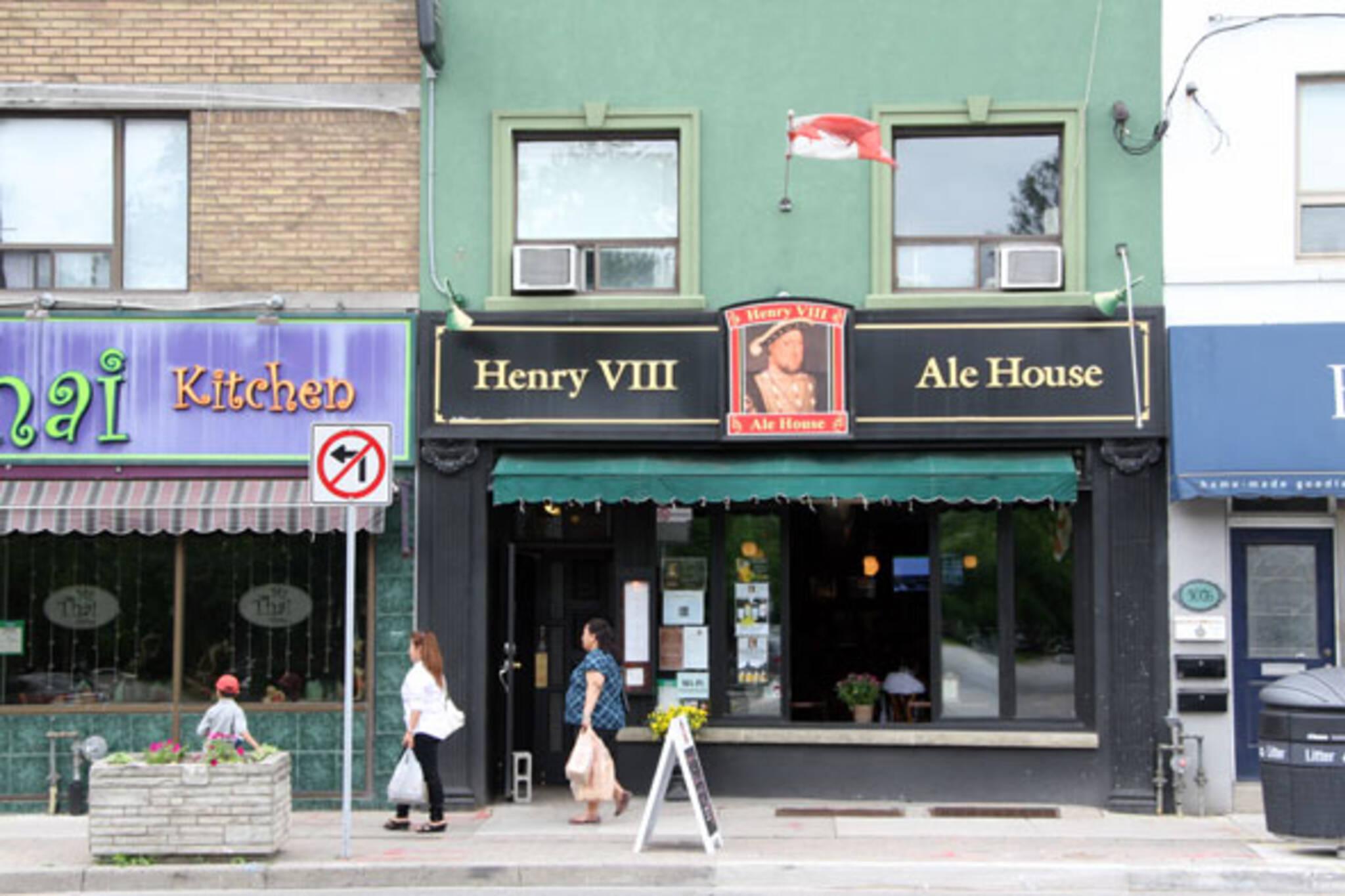 Henry VIII Ale House Toronto