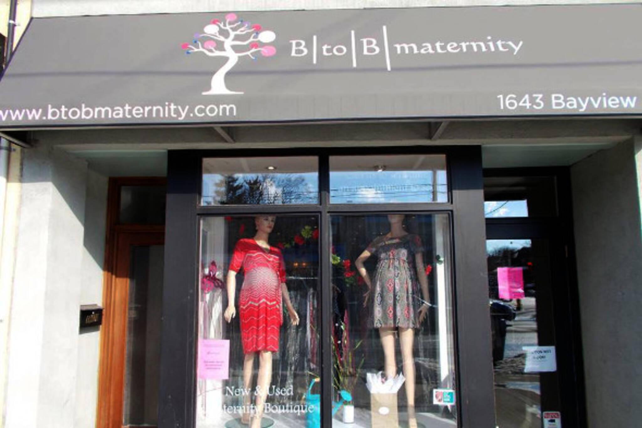 b to b maternity toronto