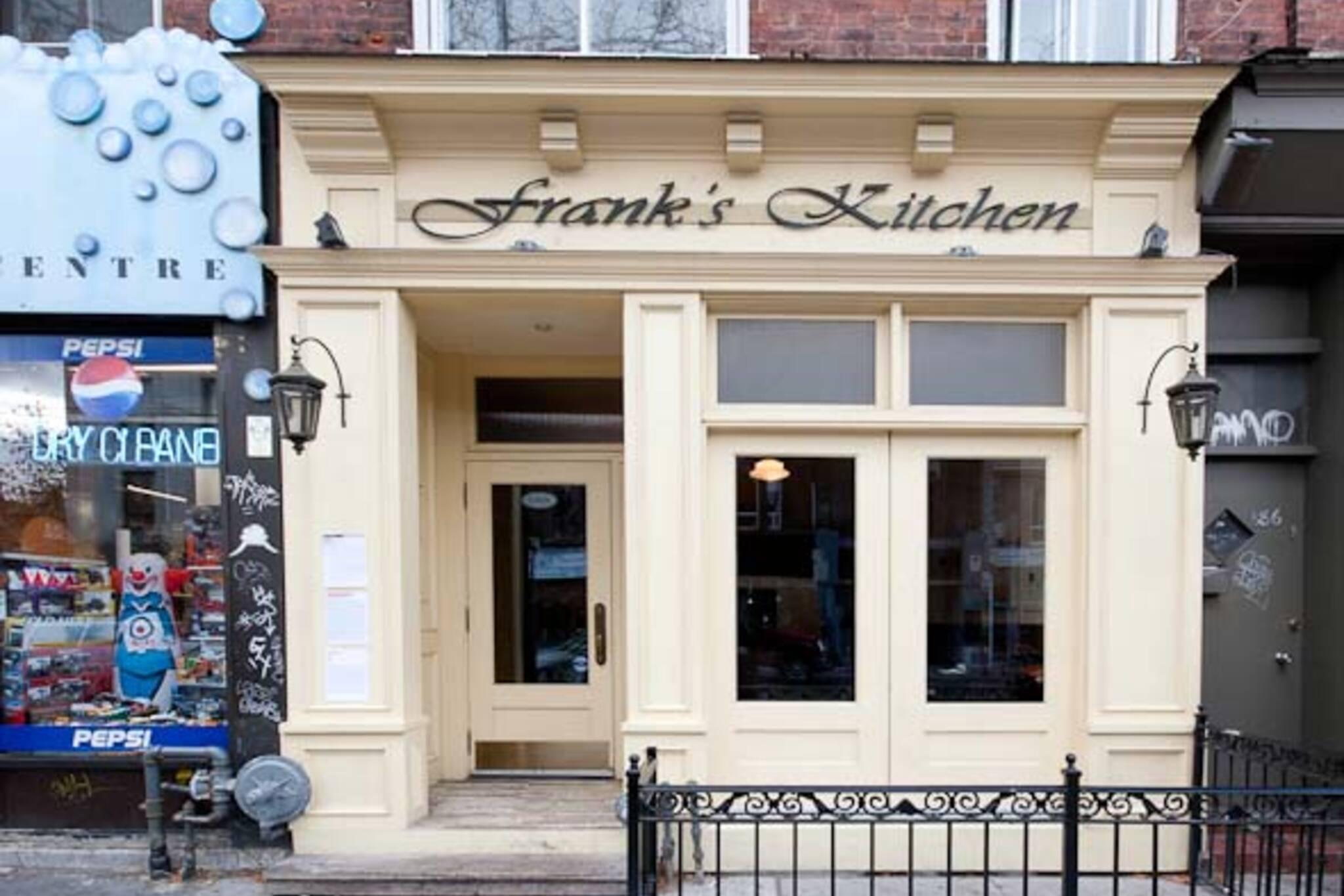 Frank's Kitchen Toronto