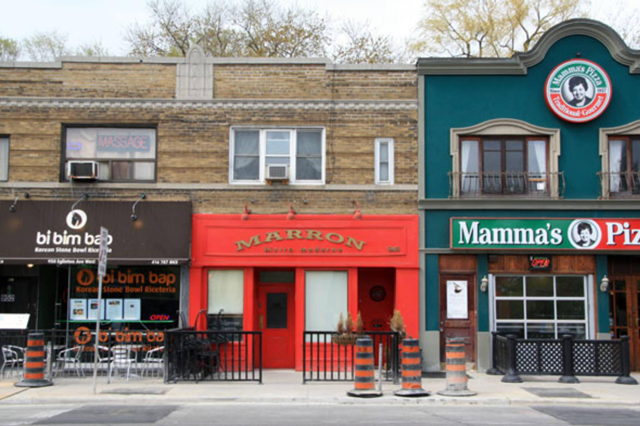 Marron Restaurant Toronto