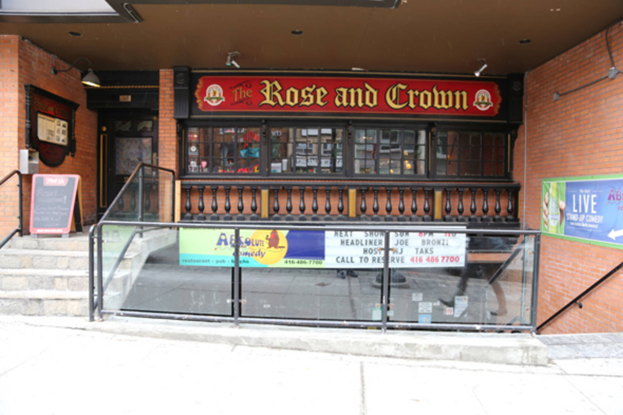 Rose and Crown Toronto