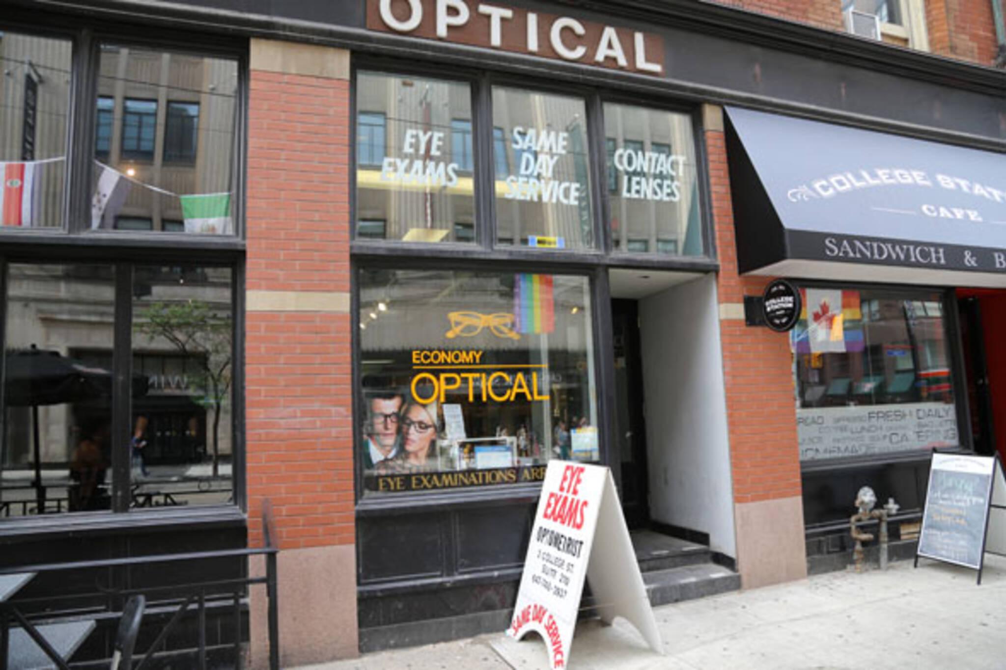 economy optical toronto