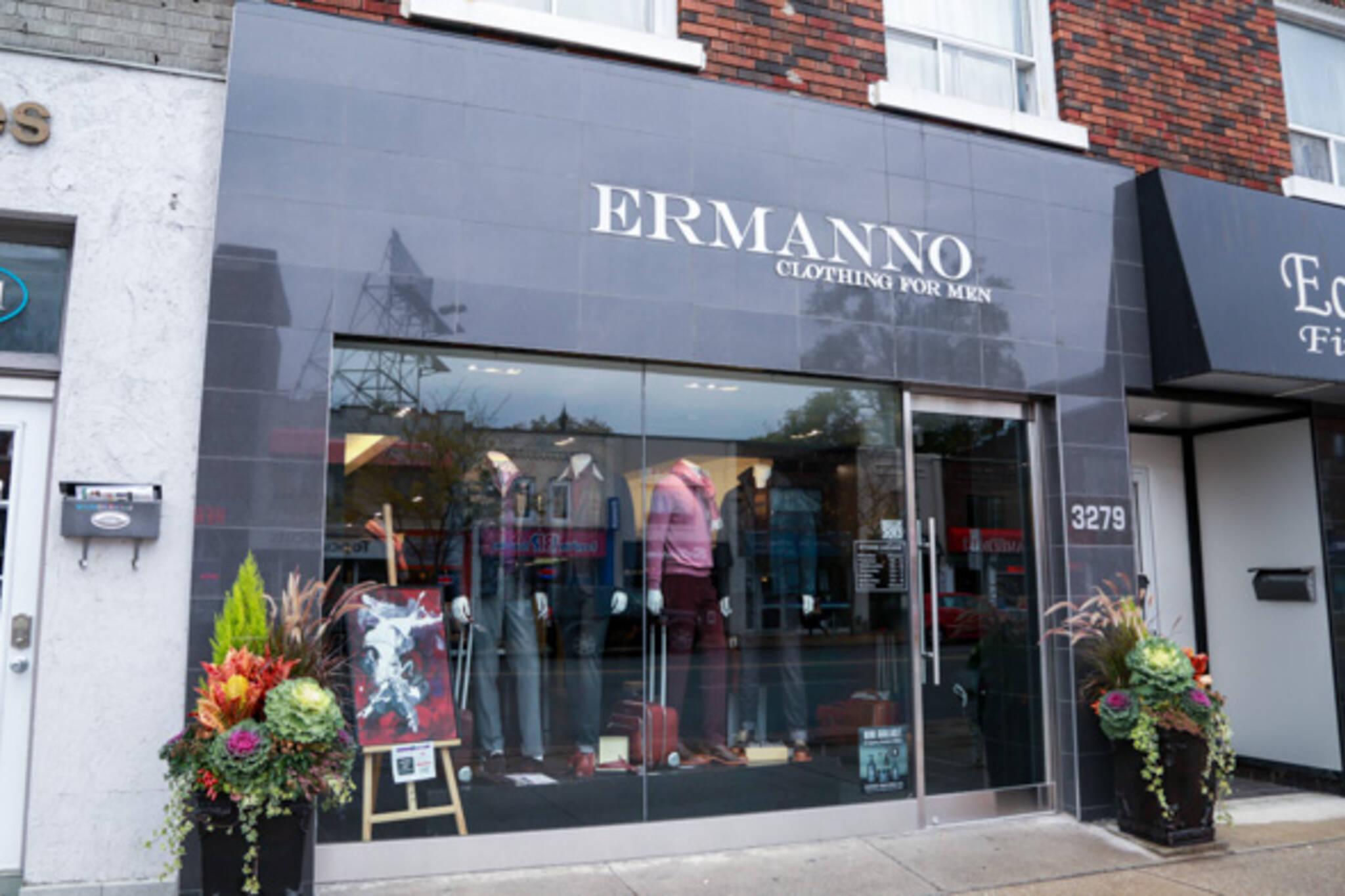 ermanno clothing