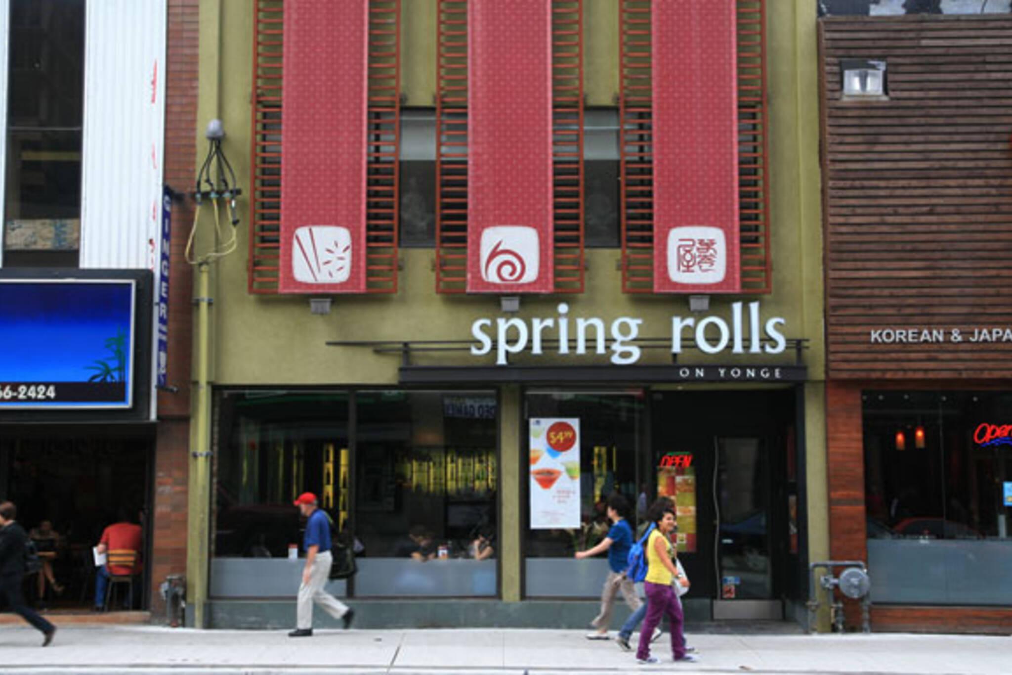 Spring Rolls Toronto