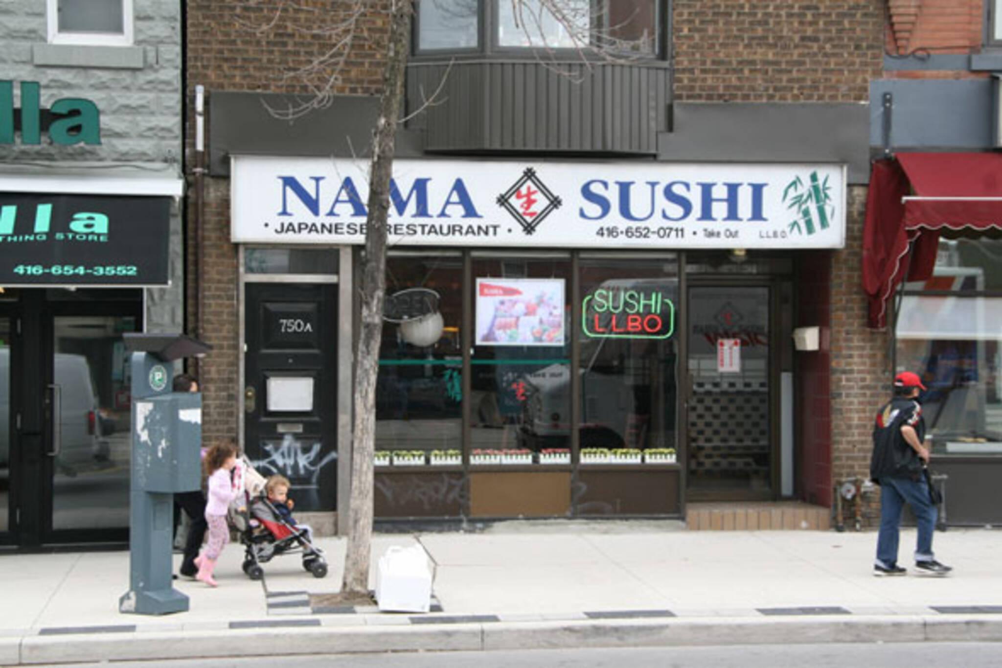 Nama Sushi Toronto