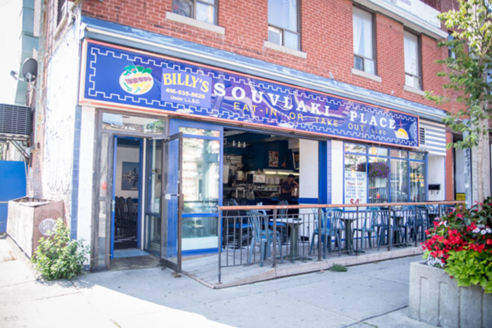 billy's souvlaki place toronto