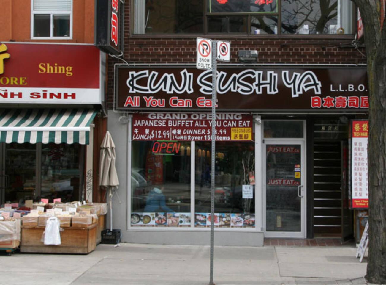 Sushi Cafe Toronto Menu