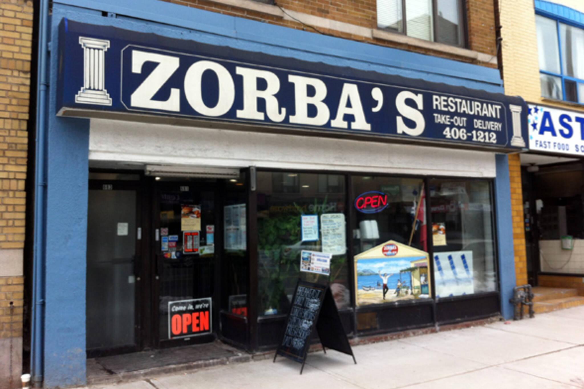 Zorbas Restaurant Toronto