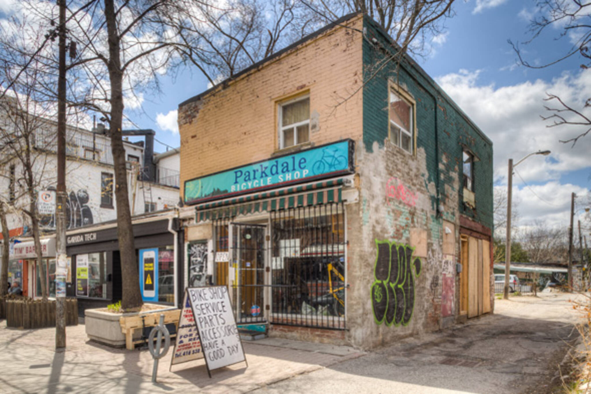 parkdale bicycle shop