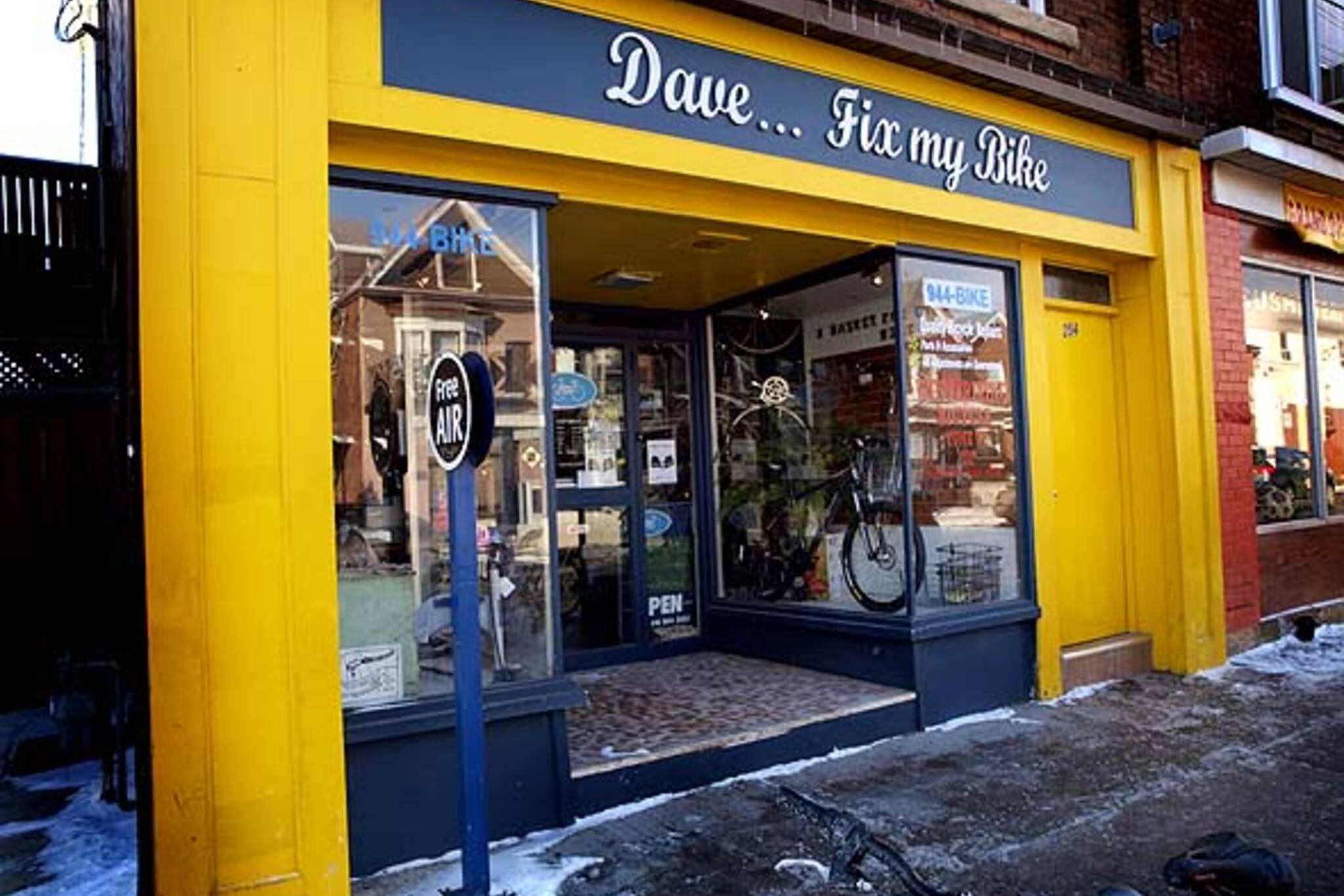 Dave Fix My Bike