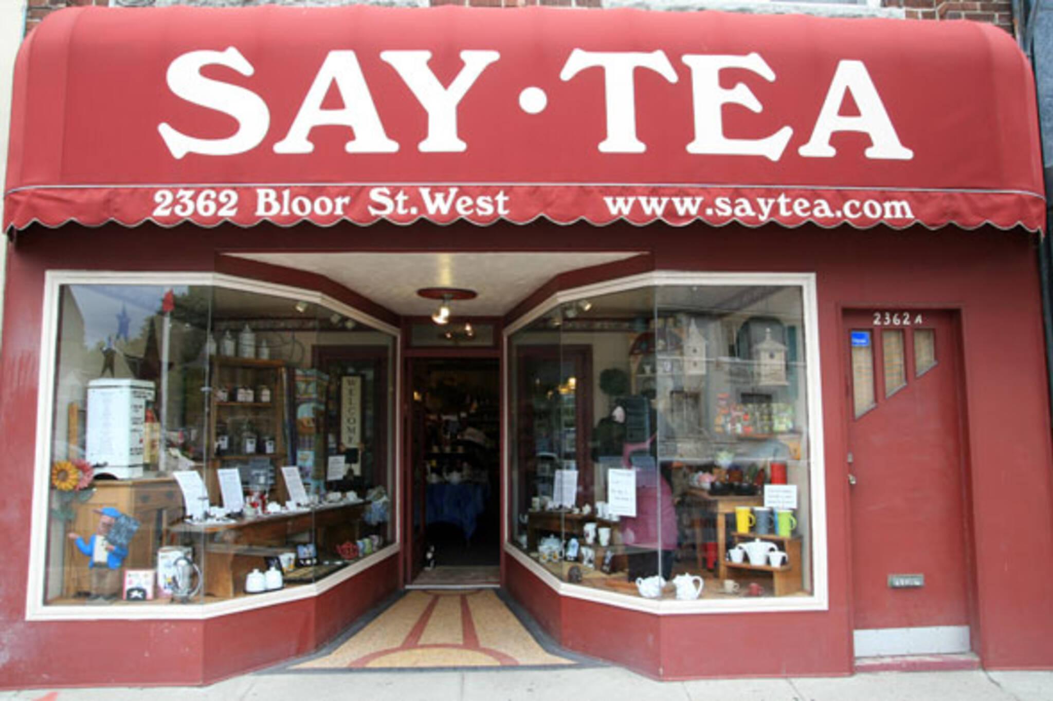 Say Tea Toronto