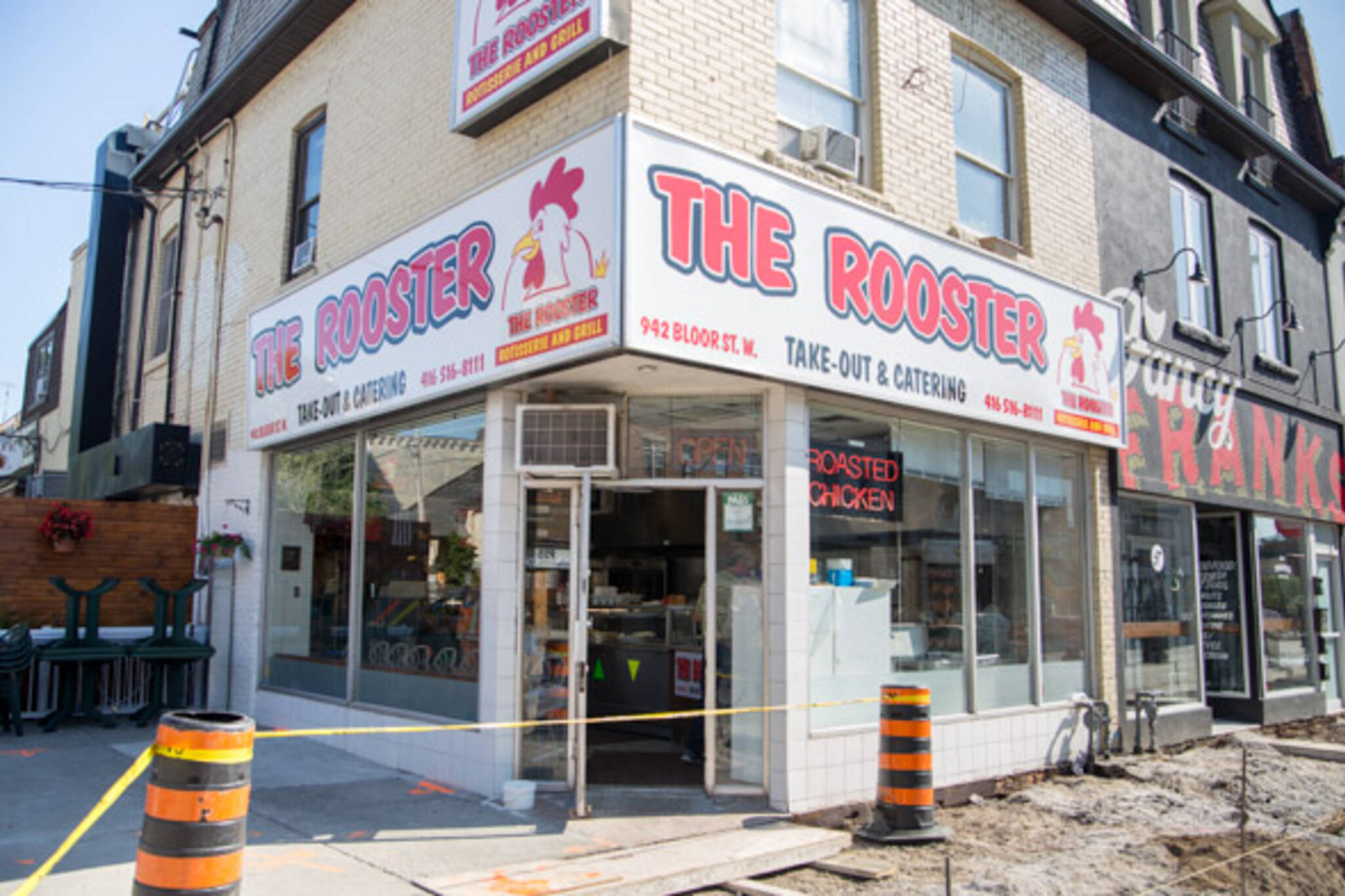 the rooster rotisserie and grill toronto