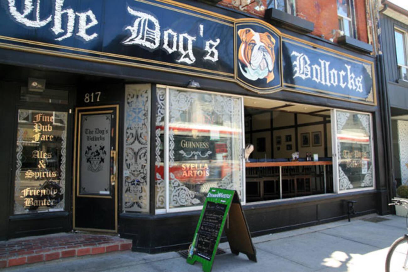 The Dog S Bollock S Closed Blogto Toronto