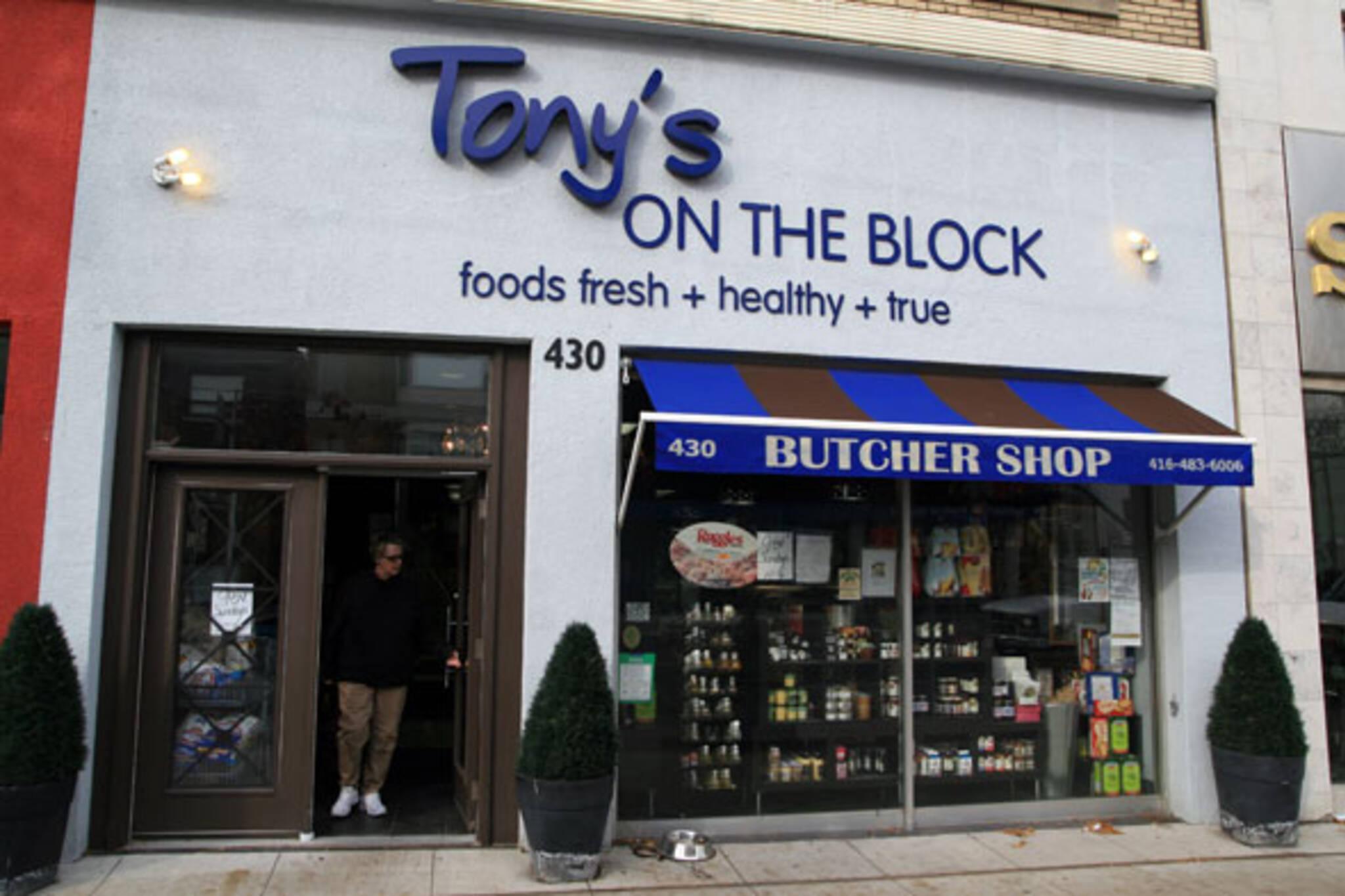 Tony's on the Block