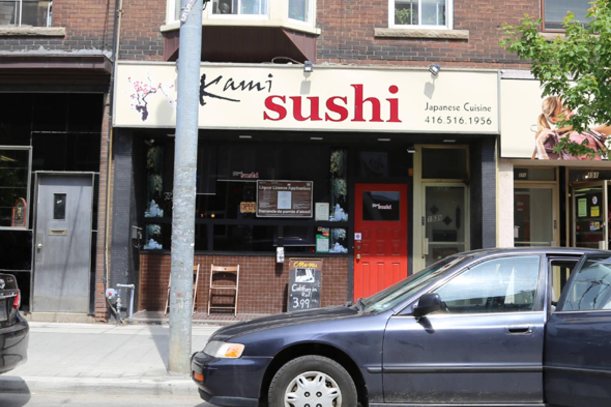 Kami Sushi Toronto