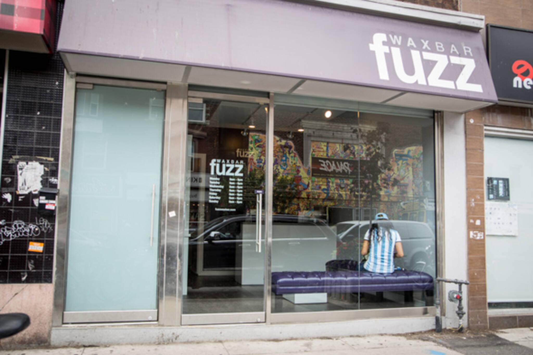 fuzz wax bar annex toronto