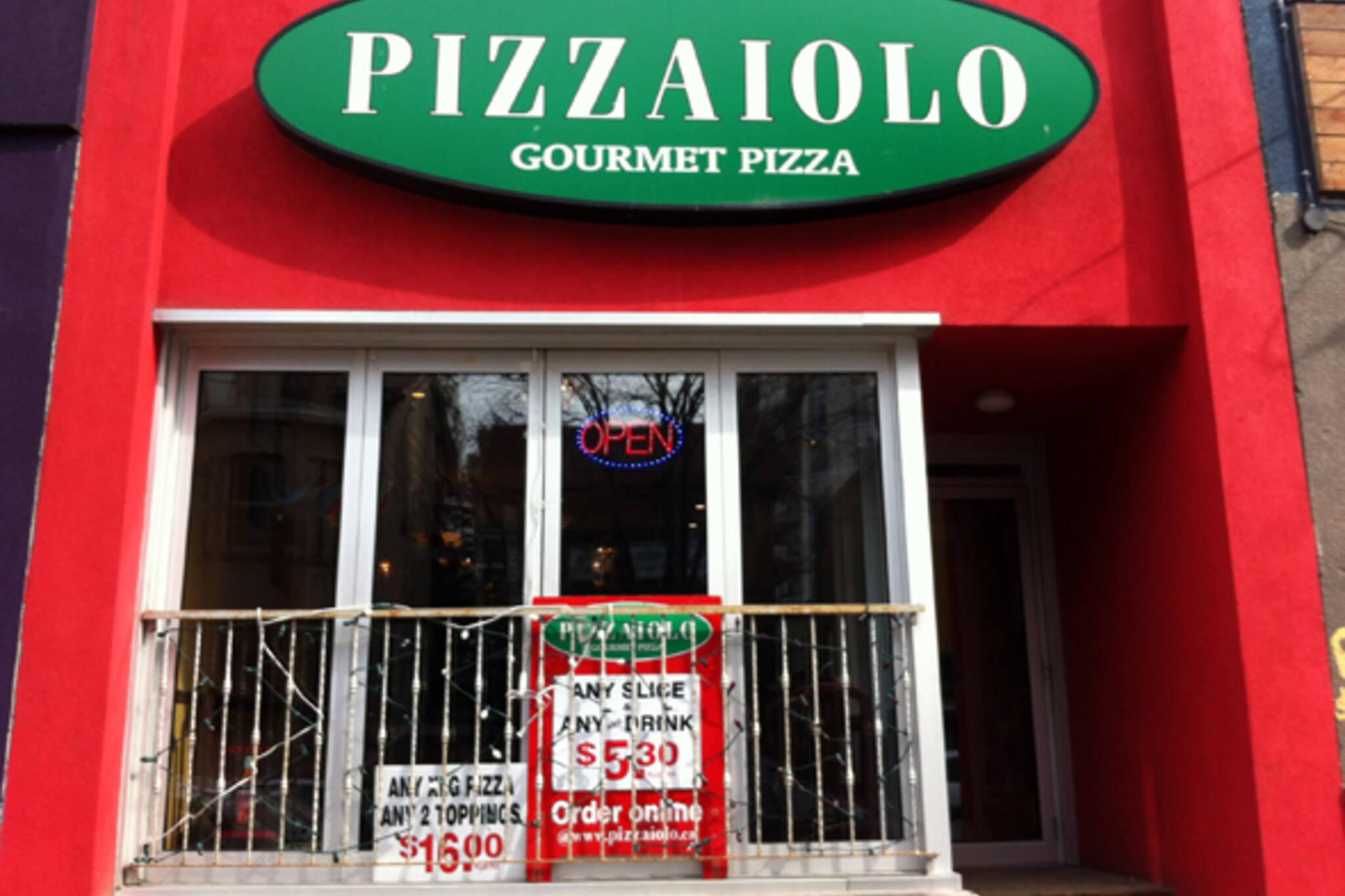 Pizzaiolo Church Street Toronto