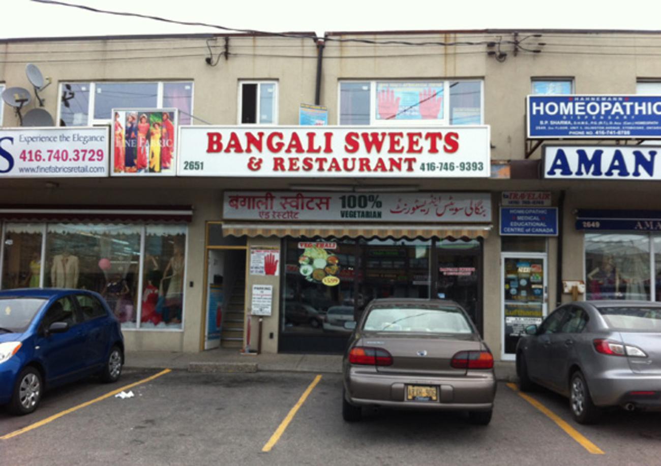 Bangali Sweets Amp Restaurant Blogto Toronto