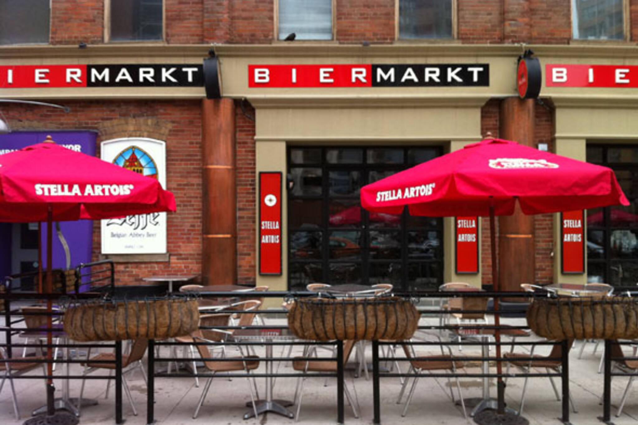 Beer Market esplanade