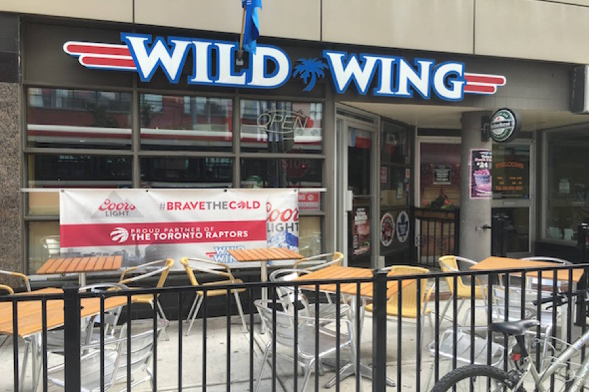 Wild Wing King West Toronto