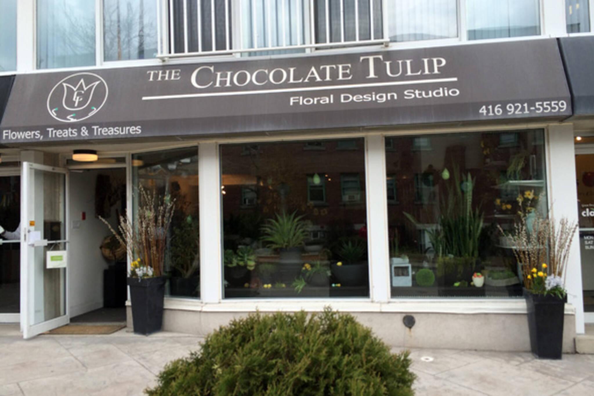 the chocolate tulip toronto
