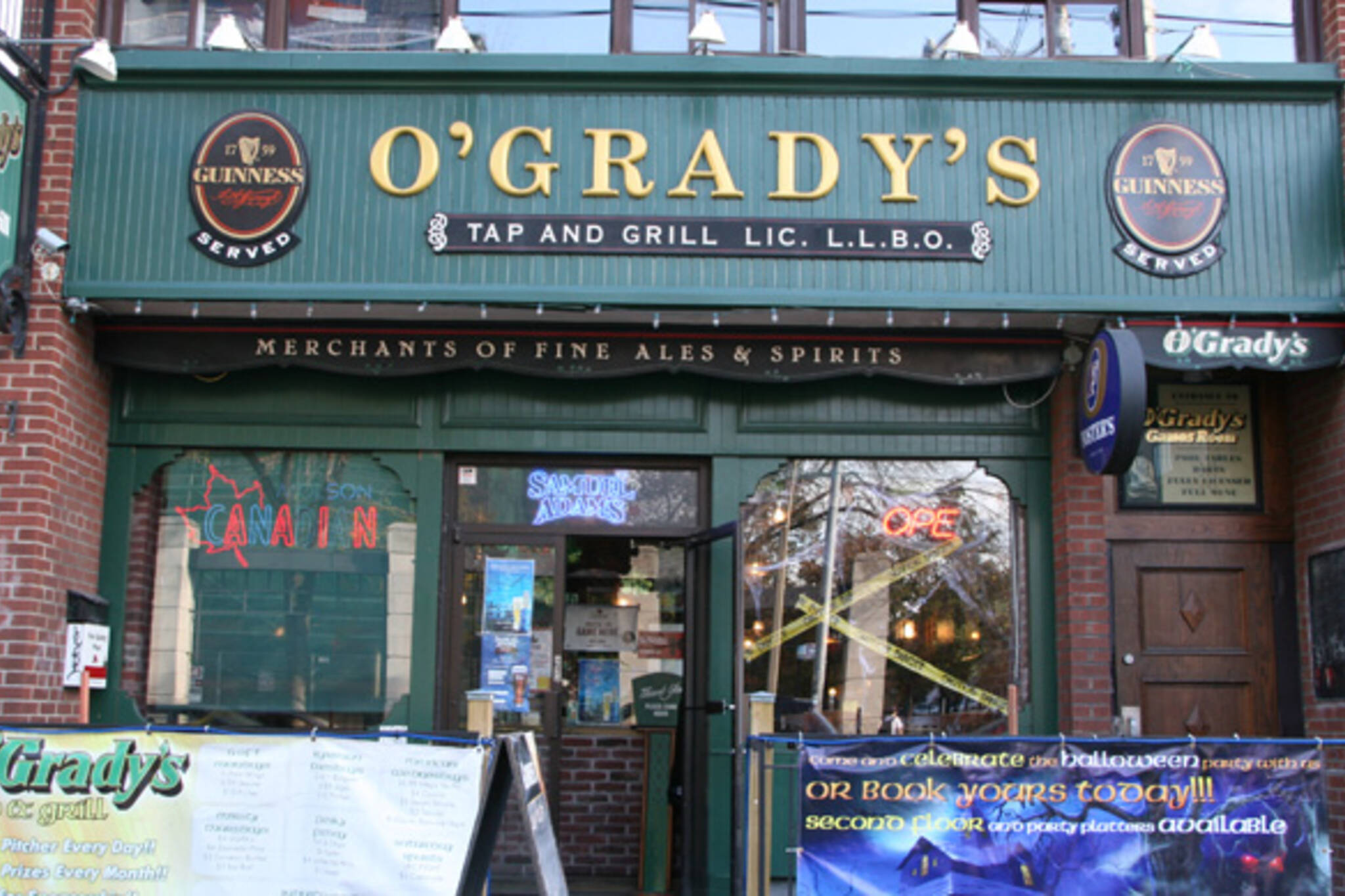 O'Grady's (College St.)