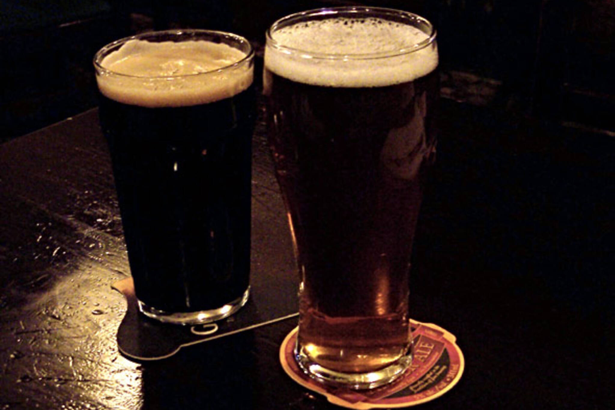 Two Pints of Fine Local Beer