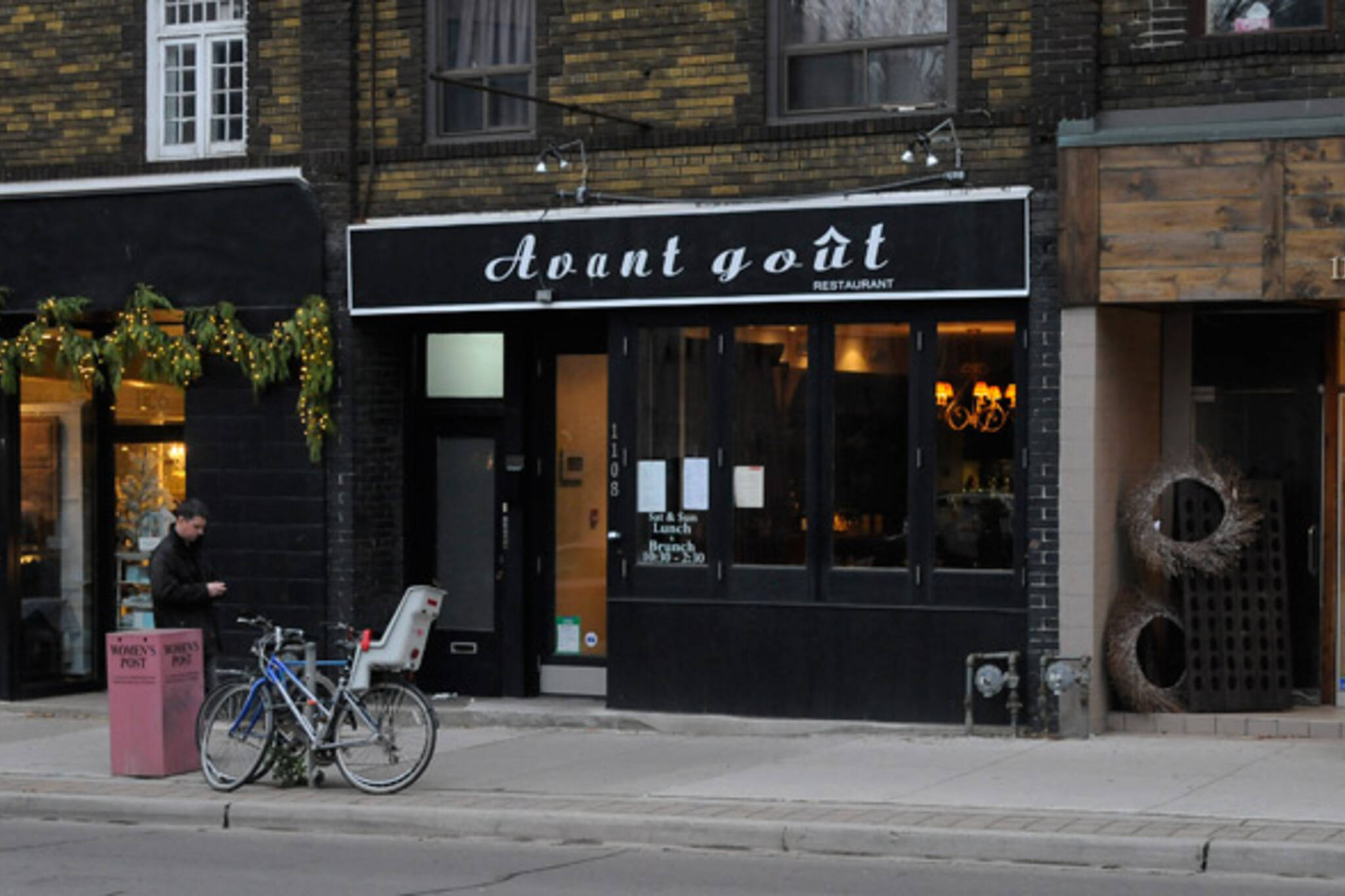 Avant Gout Restaurant Toronto