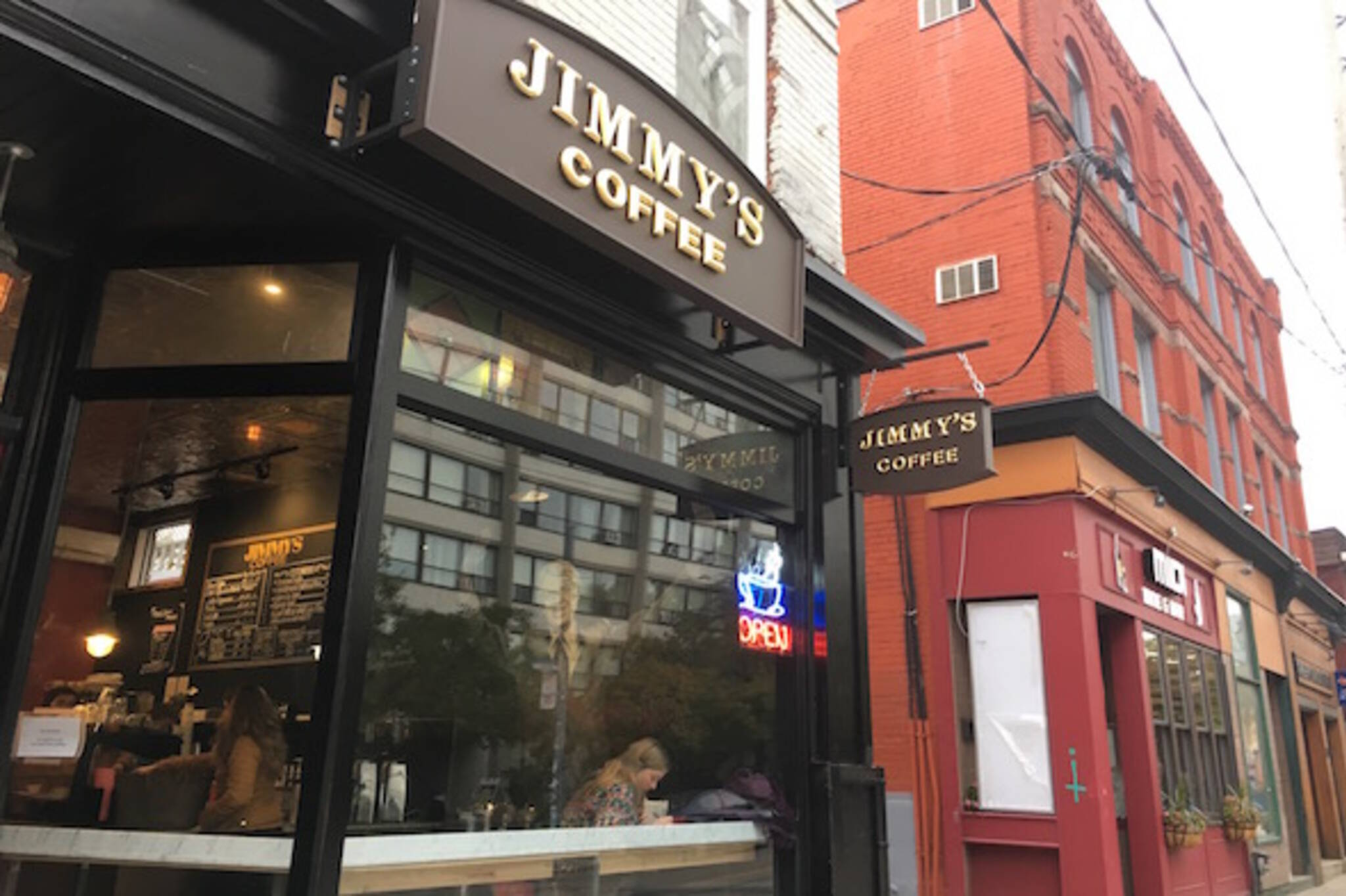 Jimmys Coffee mccaul Toronto