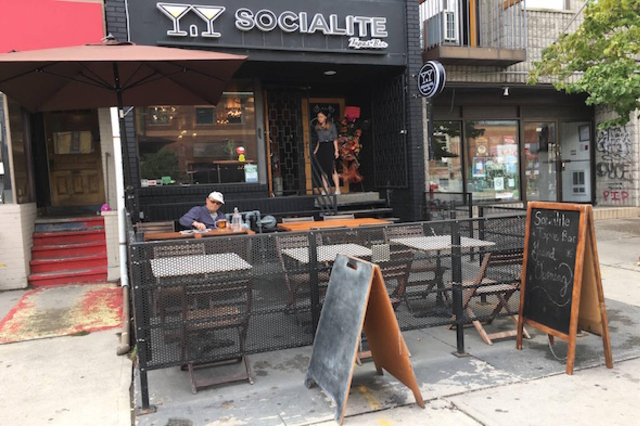 Socialite Tapas Bar Toronto