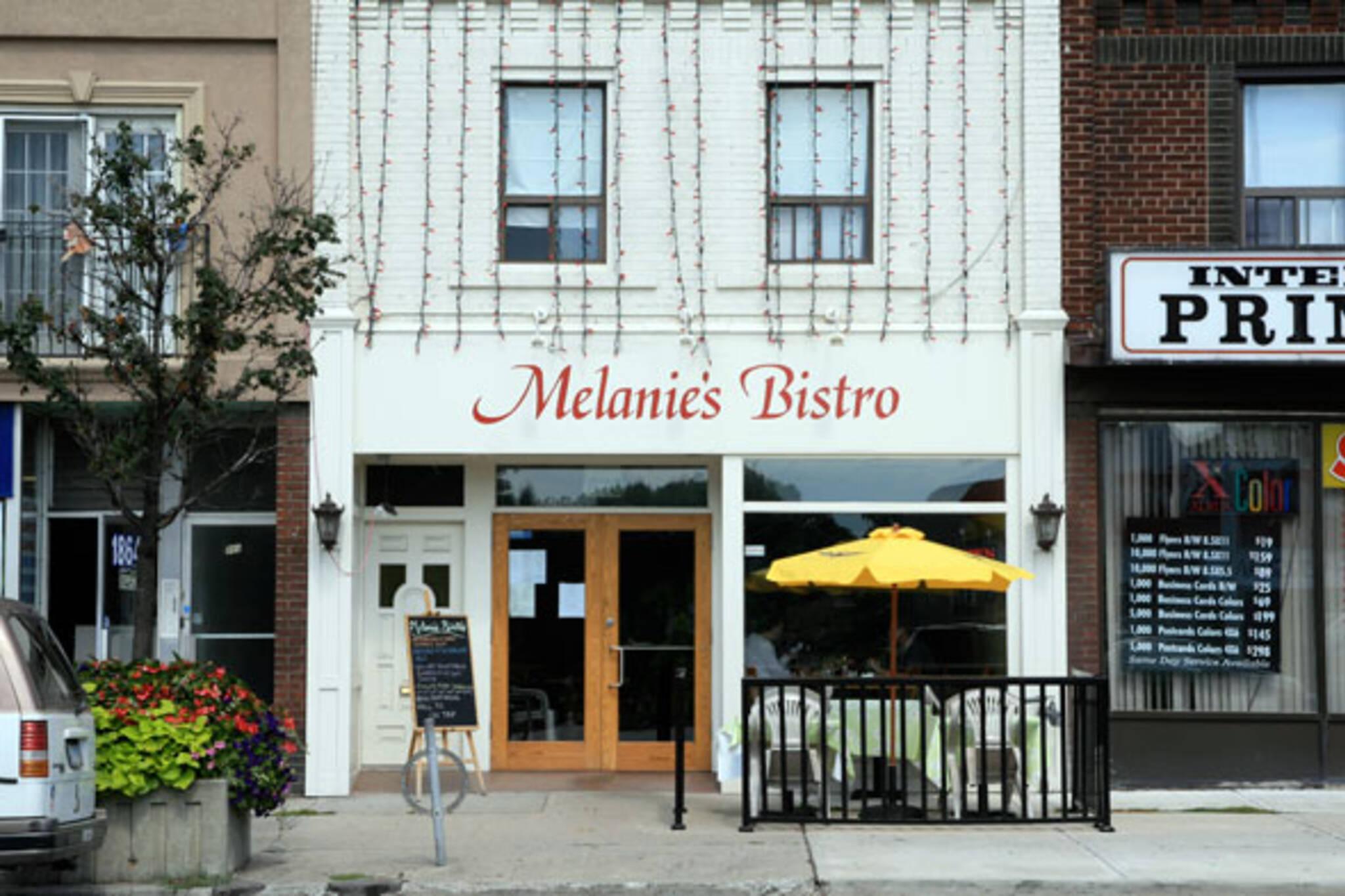 Melanie's Bistro Toronto