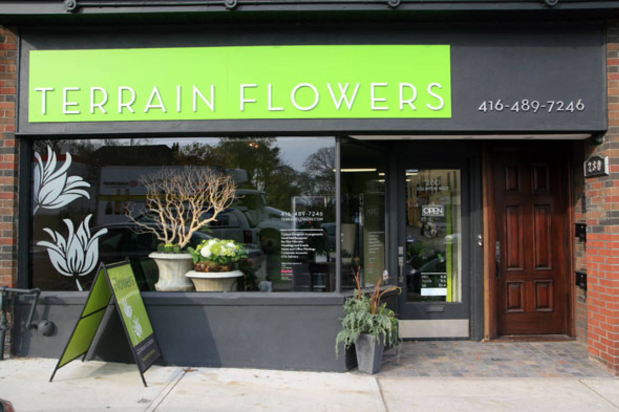 Terrain Flowers Toronto