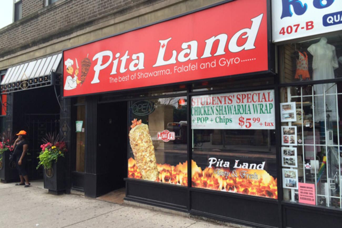 Pita Land Bloor And Sherbourne Blogto Toronto