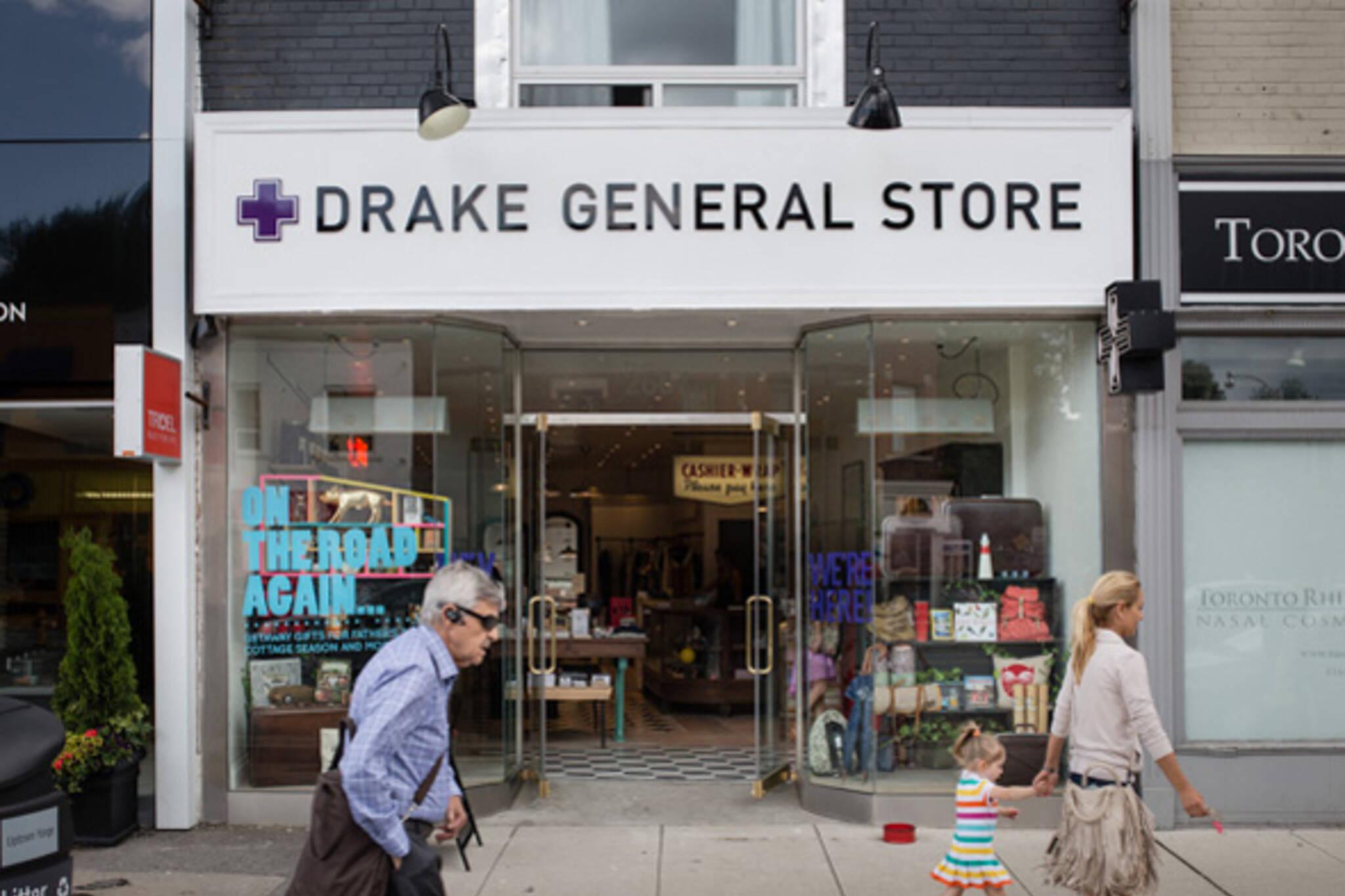 Drake General Store Yonge and Eglinton Toronto