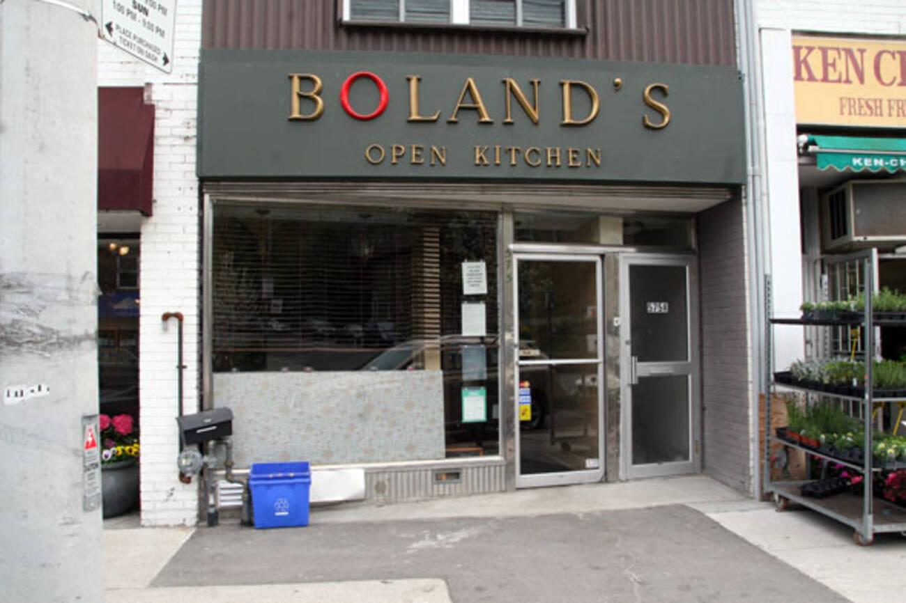 Boland S Open Kitchen
