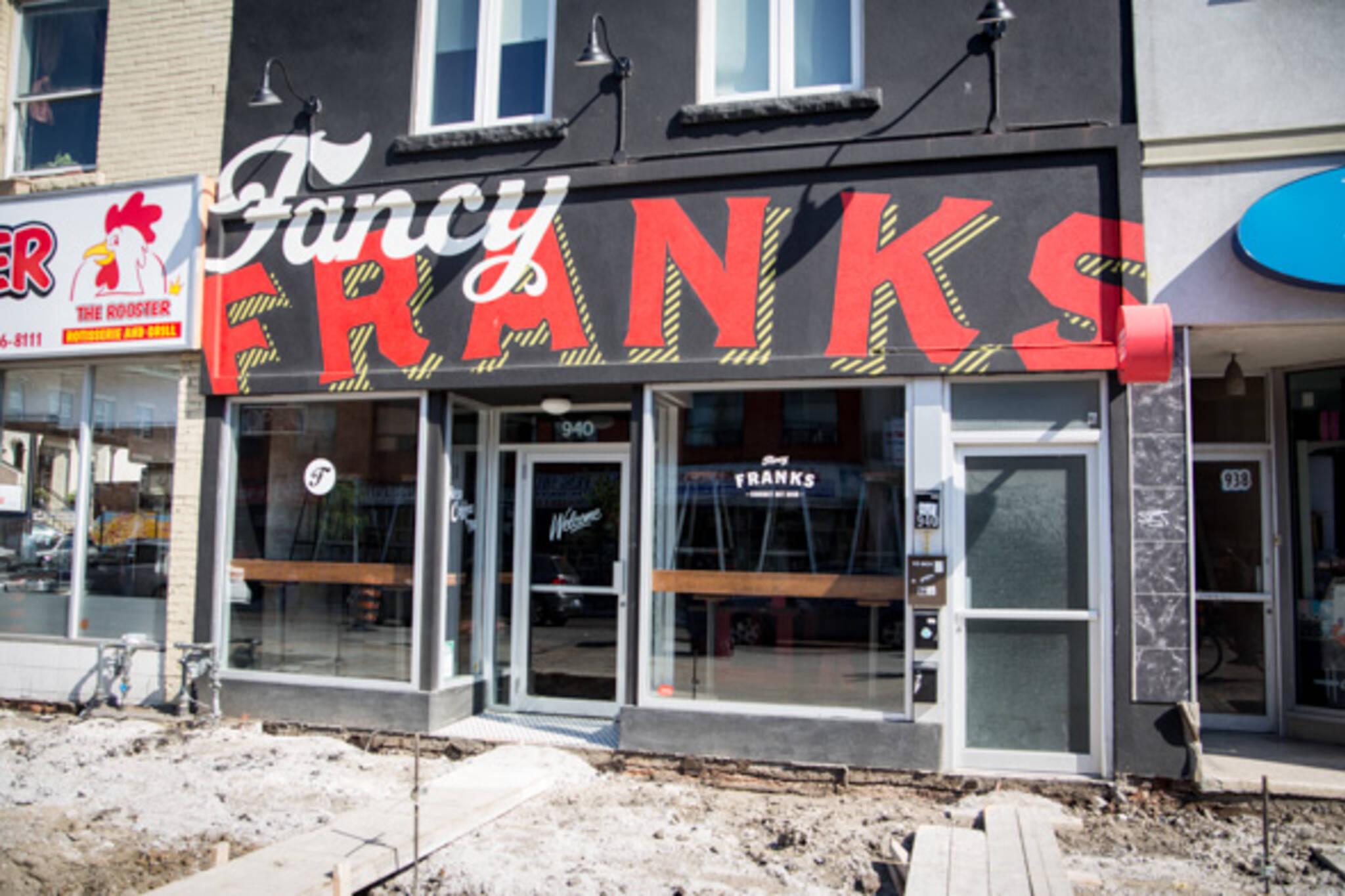 fancy franks bloorcourt toronto
