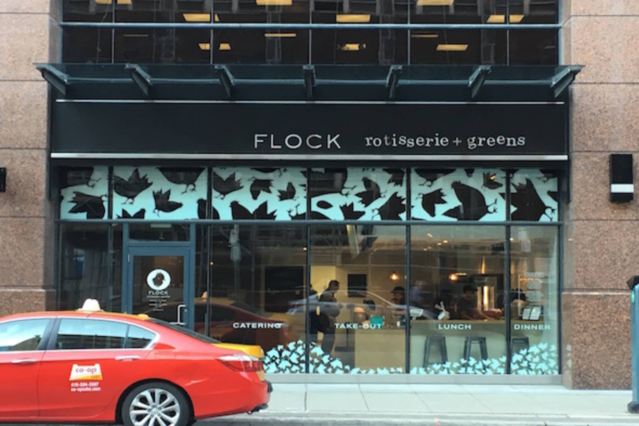 Flock bloor Toronto